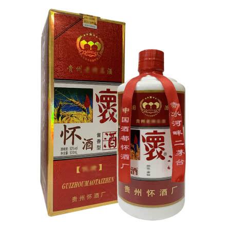 融汇陈年老酒 53°怀酒 酱香型 500ml单瓶装(2012年)