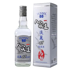 【2017年份老酒特卖】42°八八坑道台湾高粱酒马祖淡丽窖藏纯粮清香型白酒600mL单瓶