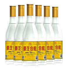 75°景芝白干480ml(6瓶装)