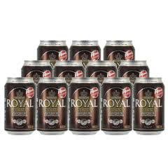 丹麦皇家棕啤酒(新)330ml*12