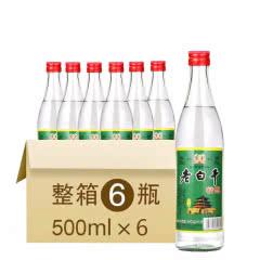 42°衡水衡记老白干 精酿 500ml*6 整箱装 老白干香型 国产白酒