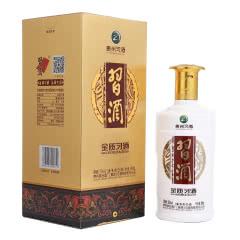 53°茅台集团 贵州习酒 习酒金质 酱香型高度白酒 500ml 单瓶装