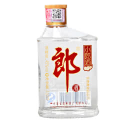 45° 郎酒 经典 小郎酒 歪嘴郎 白酒 兼香型小酒 100ml