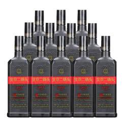 永丰牌北京二锅头 黑瓶 方瓶 品味炫彩 46度500ml 12瓶 清香型白酒