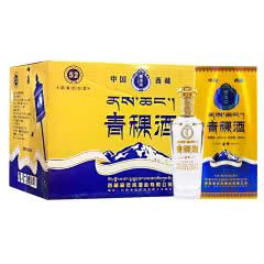 【西藏特产】藏佳纯圣峰青稞酒52度浓香型白酒500ml*6瓶整箱