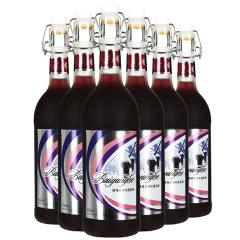 冰纯浓缩甜型冰酒红葡萄酒680ml*6