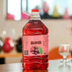 12°桃花酒 黑糯米酒 桑葚酒 荔枝酒 玫瑰酒 桂花酒 黄氏酒桶装酒2.5L