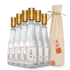 西凤酒45度500ml西凤文化馆藏原厂内招待绵柔凤香型收藏粮食白酒 整箱6瓶