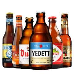 比利时进口精酿啤酒6瓶组合 白熊 督威 乐蔓 法尼斯组合