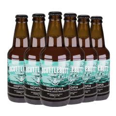 美人鱼帝国至尊IPA瓶装啤酒美国原装进口355ml*6瓶(六连包)