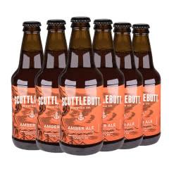 美人鱼琥珀艾尔瓶装啤酒美国原装进口355ml*6瓶