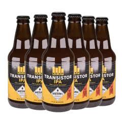 美人鱼三极管IPA瓶装啤酒美国原装进口355ml*6瓶(六连包)