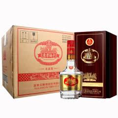 52°五粮液股份出品 东方娇子木盒装礼盒装浓香型白酒整箱500ml*6