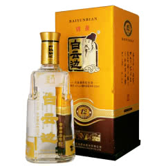 42度白云边十二年陈酿12年纯粮固态发酵优级浓酱兼香型白酒 单瓶