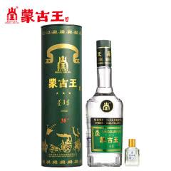 蒙古王38度调度绿桶单瓶500ml+59度50ml原浆内蒙古草原特产白酒