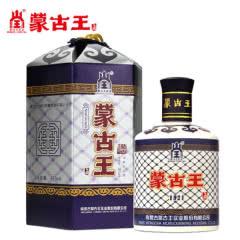 蒙古王38度蓝包蓝色故乡单瓶475ml浓香纯粮内蒙草原特产白酒包邮
