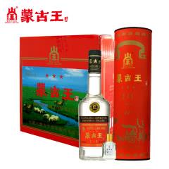 蒙古王44度调度红桶整箱550ml*6浓香纯粮内蒙古草原特产白酒包邮