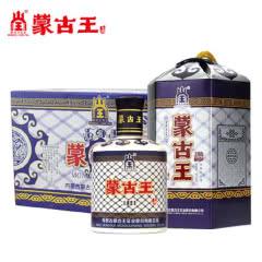 蒙古王52度蓝包整箱475ml*6高度浓香纯粮内蒙古草原特产白酒包邮