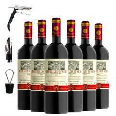 法国原瓶进口红酒 朗格多克产区AOP级 戴姆勒干红葡萄酒整箱红酒750ml*6