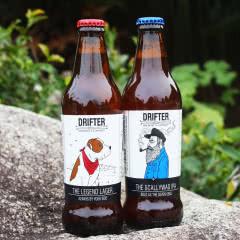 进口精酿啤酒漂流者流浪者老混蛋IPA单身汪拉格啤酒2口味组合355ML*6瓶
