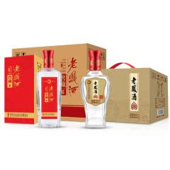 52度纯粮酒 老凤酒·窖藏6+柔和 浓香型固态纯粮白酒 500ml 整箱特价组合装