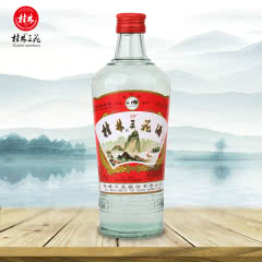 38度桂林三花酒白酒米香型桂林玻璃瓶装480ml