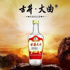 50度古井酒古井大曲 白酒高度 浓香型白酒500ml单瓶装