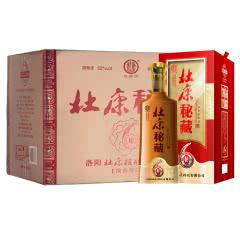 河南特产白酒 杜康酒 杜康秘藏秘6 浓香型白酒52度 500ml 6瓶整箱