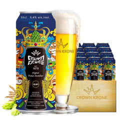 德国进口皇冠啤酒精酿岩石啤酒500ML(24听装)