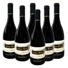 澳洲原装进口混酿干红葡萄酒750ml*6