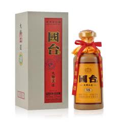 53°国台大师工造(2017-2018年随机)酱香型礼盒商务酒 500ml(单瓶)