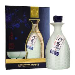 53度山西杏花村 汾杏1988清香型白酒 475ml(带杯)吉祥壶礼盒酒