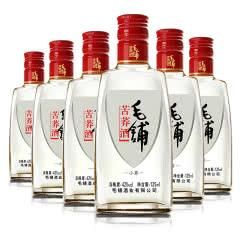 42°劲牌 毛铺苦荞酒 小酒 125ml*6瓶 箱装配制白酒