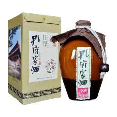 52°孔府家酒 浓香型山东白酒 经典大陶 500ml*1 单瓶装