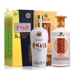 53°茅台贵州大曲酒500ml(70年代)+53°金质习酒500ml