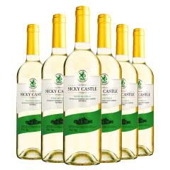 智利进口珍品干白葡萄酒750ml*6瓶