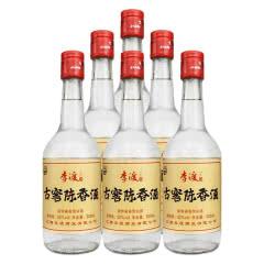 李渡官方 李渡高粱酒 粮食酒 固态法酿造 52度古窖陈香500ml整箱