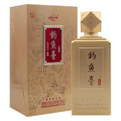 53°钓鱼台礼宾酒(雪)酱香型礼盒装500ml*1