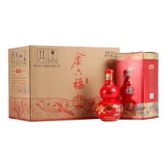 金六福 50°六福呈祥 高度白酒 婚庆喜宴 喜酒 500ml*6白酒整箱