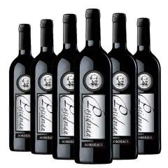 法国波思蒂曼.西拉干红葡萄酒750ml*6支装