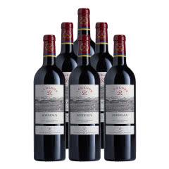 法国2017传奇源自拉菲罗斯柴尔德波尔多红葡萄酒750ml*6(拉菲传奇DBR行货)