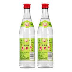 62°衡水衡记老白干绿标传统版500ml*2瓶装