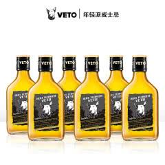 牛头梗 VETO 单一麦芽威士忌酒200ml*6英国原装进口 小瓶装洋酒