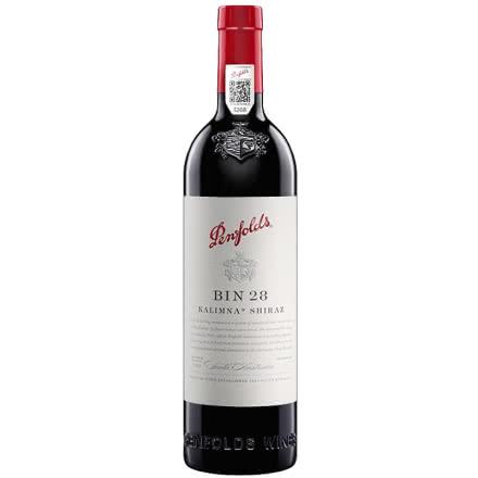 奔富BIN28 卡琳娜设拉子红葡萄酒 澳洲原瓶进口红酒 750ml