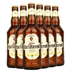 欧洲乌克兰原装进口啤酒 堡禧科白啤酒精酿白啤酒500ML*6瓶