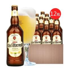 欧洲乌克兰原装进口啤酒 堡禧科白啤酒精酿白啤酒500ML*12瓶