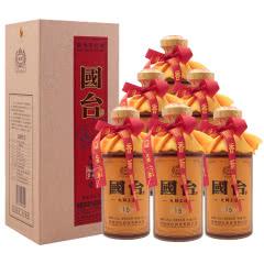 53°国台大师工造(15)酱香型白酒 250ml*6瓶整箱装(2018年)