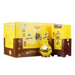 45度牛栏山白酒经典二锅头黄龙清香型白酒500ml*6瓶(整箱装)