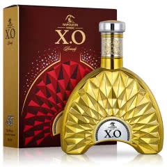 40°法国拿破仑璀璨55金钻限量版XO白兰地700ml (洋酒礼盒)