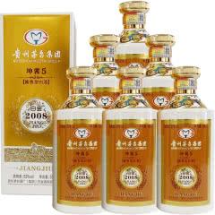 53°贵州茅台酒厂集团 坤酱5 金色版 酱香型高度白酒 商务送礼酒水 500ml*6瓶